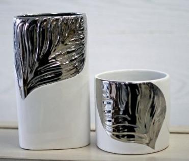 Silver White Containers