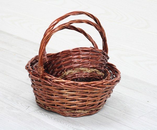 2 Willow Baskets
